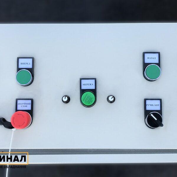 Пульт управления 2 в 1 для подключения штрипсореза и наматывателя Кардинал